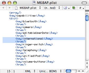 M68AP.plist in TextWrangler