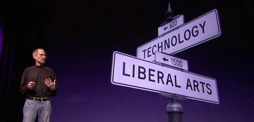 Steve Jobs at the Intersection of Technology and Liberal Arts