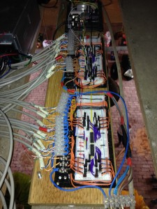 Self-built 32 channel 12V Arduino DMX dimm pack